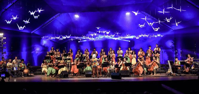 """Orquestra Villa-Lobos no """"Sonamos Latinoamerica"""""""